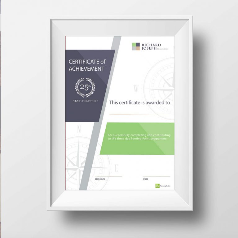 Portfolio LokalLemons Ansbach Werbeagentur - Zertifikat