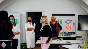 Gründerinnentreffen im Media Lab Ansbach